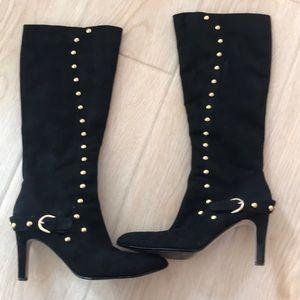 Ann Marino suede boots